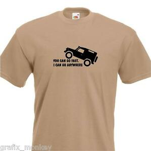 Land-Rover-T-shirt-034-Defender-anywhere-034-any-size-colour