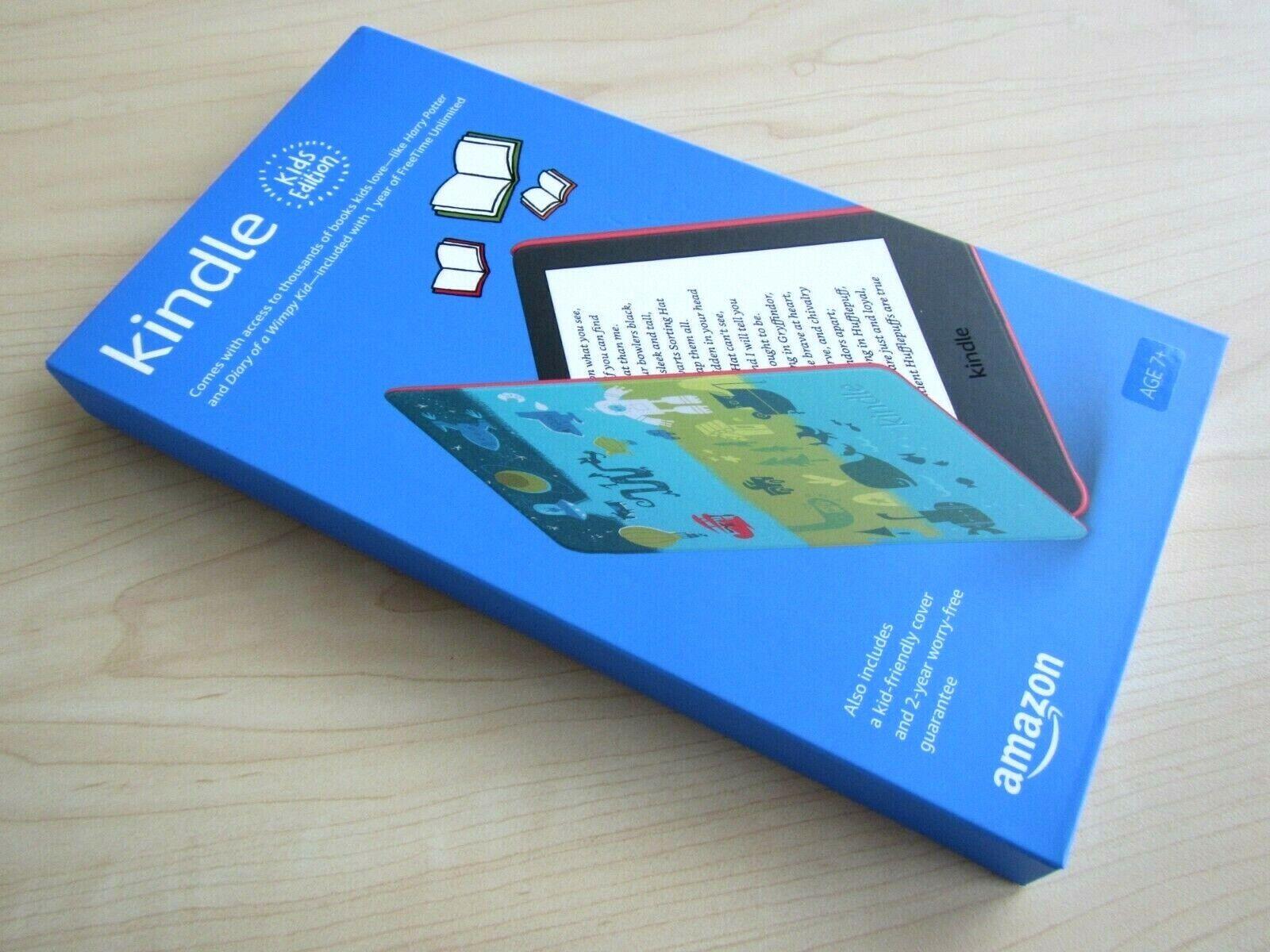 NEW 2020 AMAZON KINDLE KIDS EDITION E-BOOK E-READER TABLET 8 GB 6