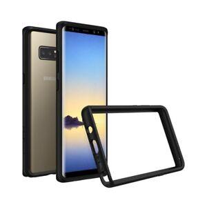 sale retailer c07c1 6dc94 Details about Samsung Galaxy Note 8 Bumper, RhinoShield [CrashGuard]  Protective Case - Black