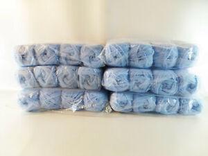 babyblaue-Wolle-Longchamp-70-Acryl-hellblau-24-Knaeul-a-50-g