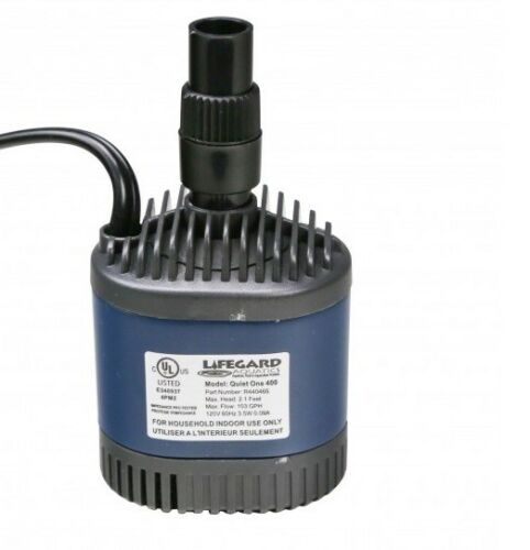 LIFEGARD AQUATICS QUIET ONE 400 Aquarium Water Pump 103 GPH  # R440465
