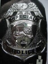 US POLIZEI SPECIAL POLICE BADGE PIN ABZEICHEN MÜTZENABZEICHEN KARNEVAL FASCHING