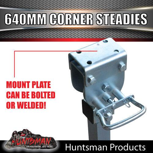 X2 620mm Drop Down Corner Steadies Stabilizer Legs