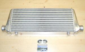 universal-LADELUFTKUHLER-NEU-550-x-225-mm-LLK-Alu-poliert-fuer-Turbo-Motor