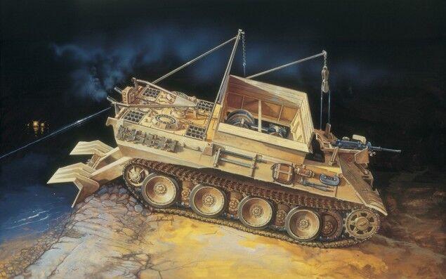 Italeri Models 1 35 German SdKfz.179 Bergepanther Tank