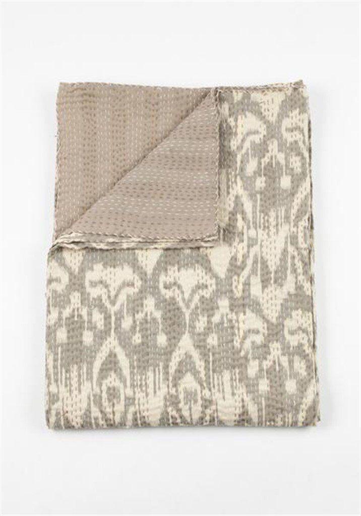 Indian Handmade Quilt Vintage Kantha Bedsp Kantha Quilt Blanket Throw Baby Quilt