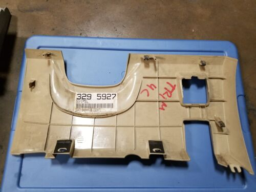 LINCOLN LS 2000 2001 2002 2003 04 2005 2006 DRIVER LOWER CONSOLE PANEL 4C