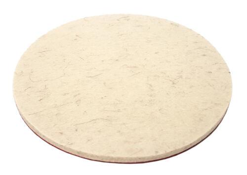 Velcro Filzscheibe Polissage Vitre 125 mm Voiture Vernis polierpads disque abrasif