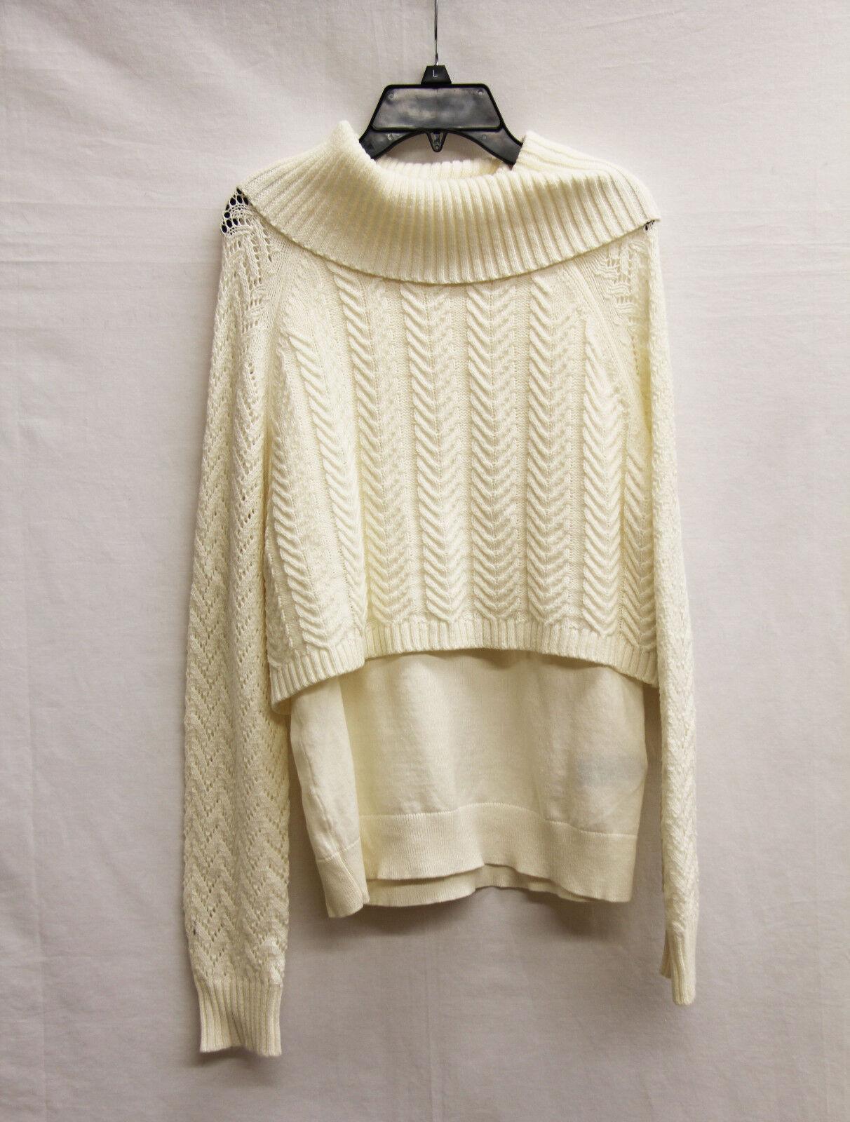 Vince Camuto Women's Sweater, M, Cream