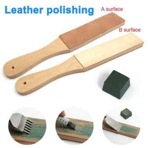 Dual-Sided-Compounds-Leather-Kit-Blade-Strop-Razor-Sharpener-Polishing-Set-Tool