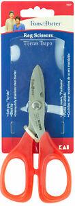 Fons-amp-Porter-Rag-Scissors-Heavy-Duty-Blunt-Tip-Stainless-Steel-Blades