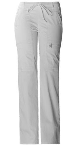 Cherokee Scrubs Women's Cargo Pants 21100 White Whtv Cherokee Luxe Jr. Fit