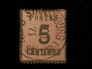 Deutschland-Norddeutscher-Bund-Elsass-Lothringen-1870-MiNr-4-5-C-Nr-1