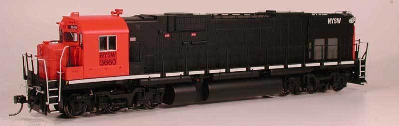 Bowser 23636 HO C636 NYSW 3660 (Susquehanna) +Sound - Brand New C-10 Mint