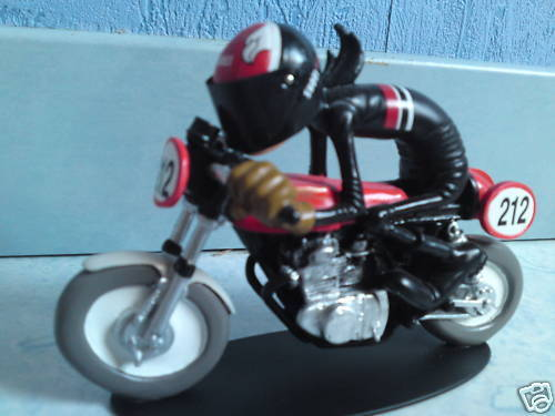 joe bar team moto Honda 350 CB Kitée racing Chris Deb