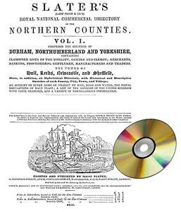 Directory DURHAM  NORTHUMBERLAND  AND YORKSHIRE 1855 - -, United Kingdom - Directory DURHAM  NORTHUMBERLAND  AND YORKSHIRE 1855 - -, United Kingdom