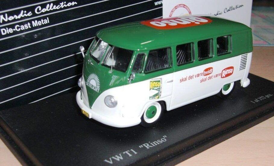 Rare TROFEU VW T1 Van Sunlight Rinso (TEKNO DANEMARK livrée) 1 de 252 1 43