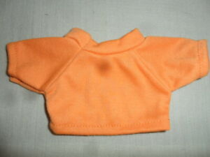 New-Small-T-Shirt-Orange-For-Approx-7-7-8in-Bears