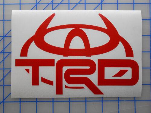 "Toyota TRD Horns Emblem Sticker Decal 4/"" 5.5/"" 7.5/"" Off Road Tundra Tacoma FJ"