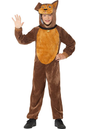 Childrens Size Brown Dog Costume