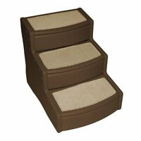 Pet Gear Easy Step Iii Extra Wide Pet Stairs, 3-step/for Cats And Dogs Up To 200