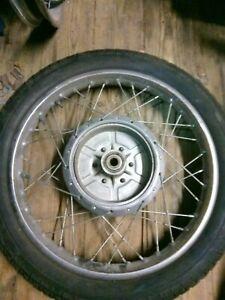 Hinterrad 18 Zoll Felge rear wheel Suzuki T 500 GT - 125 185 250 450 550 750