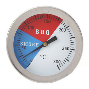 0-300-Stainless-Steel-Barbecue-Smoker-Grill-Thermometer-Temperature-Gauge-BBQ