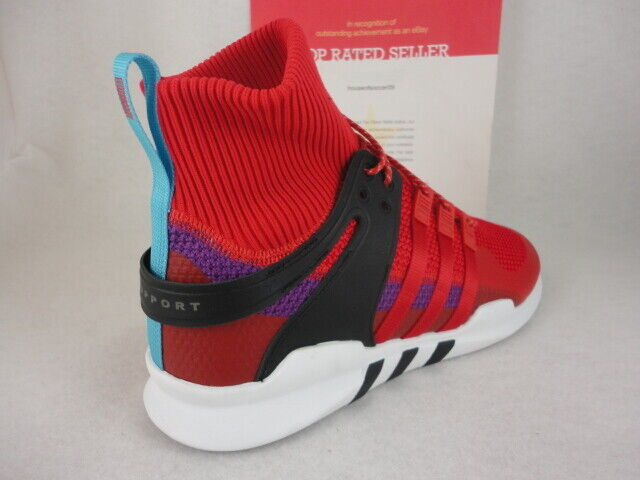 Adidas EQT Support ADV Winter, Scarlet Red   Purple, Size 11.5