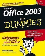Office 2003 Para Dummies-ExLibrary