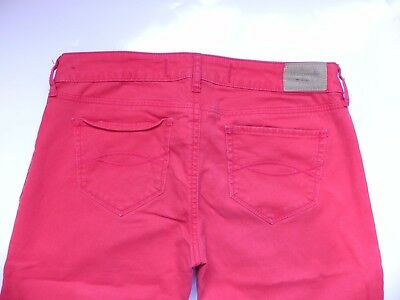 Abercrombie & Fitch~Red Skinny stretch Jeggings Pants size 26