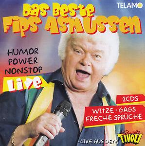 FIPS-ASMUSSEN-2-CD-HUMOR-POWER-NONSTOP-LIVE-DAS-BESTE