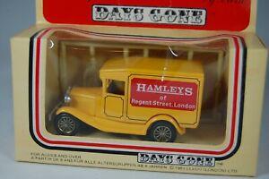 LLEDO-DAYS-GONE-1934-MODEL-A-FORD-VAN-HAMLEYS-OF-REGENT-STREET-LONDON