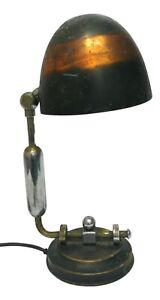 Lampada Da Tavolo Industriale Bauhaus Design Anker Lyhne Anni 50 Vintage Ebay