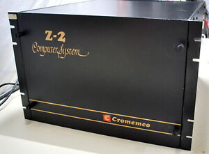 Museum Quality Cromemco Z2 S-100 Computer Low S# 00158   (Will Ship WorldWide)