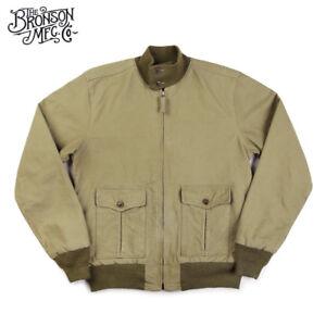 Bronson-Replication-USN-37J1-Flight-Jacket-Mens-Cotton-Military-Outwear-Navy
