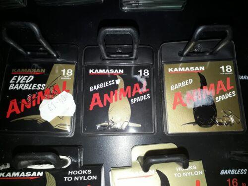 Kamasan Animal hooks 3 pack minimum order