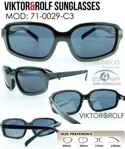 EyezoneCo VIKTOR/&ROLF  71-0029-3 Fashion Designer Full-rim Black//Metal Sunglass