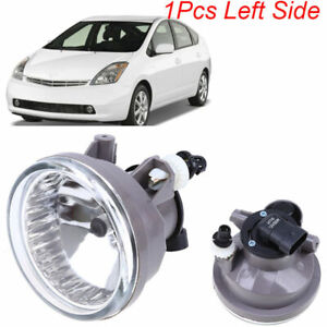 Front Left /& Right Fog Light Lamps with Light Bulds For Toyota Prius 2004-2009