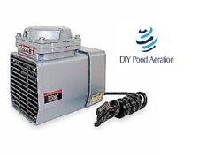 New Oem Gast Compresser 255hg Vacuum Pump18 Hp60 Hz115v Dc12 Aerator