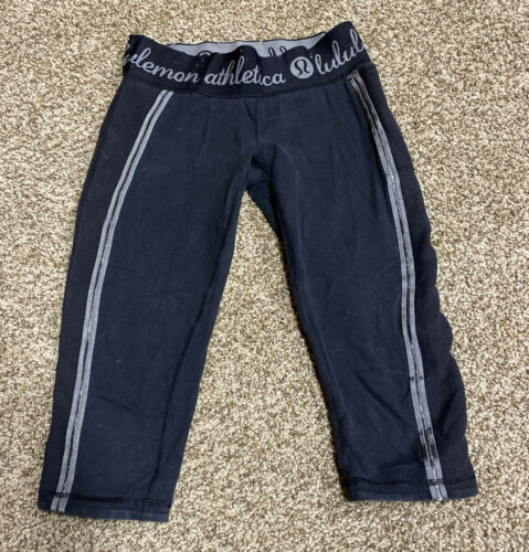 Lululemon Black Bike Shorts Size 6