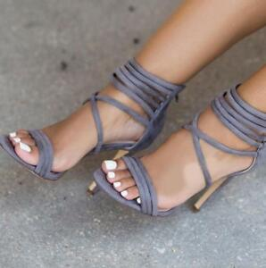 New-Women-Gladiator-Sandals-Open-Toe-Strappy-High-Heel-Stiletto-Shoe-Sexy-Party