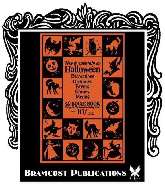1926 Dennison's Bogie Book (Dennisons Vintage Halloween Costumes Party Ideas)
