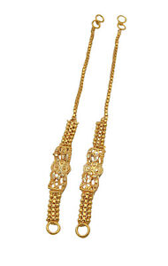 f2a7ade84a216 Jwellmart Indian Bollywood Gold Plated Self Design Earring support ...