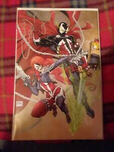 Spawn-302-E-Cover-Image-VF-NM-Comics-Book-virgin-variant-high-grade-cgc-ready
