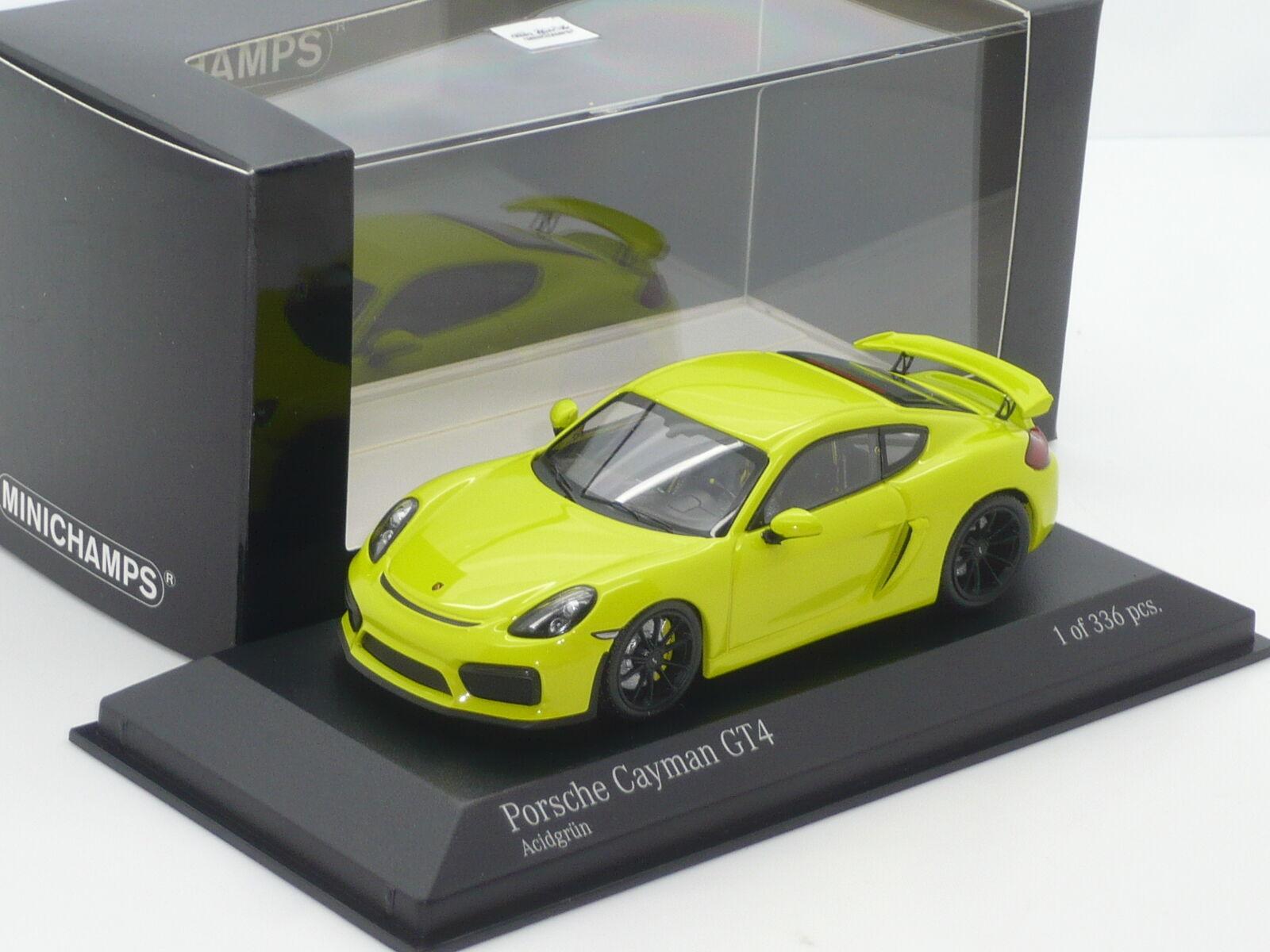 New 1 43 Porsche Cayman GT4 981 1 336 n Le Mans Ltd Edtn 911 GT2 GT3 RS 982 Grun