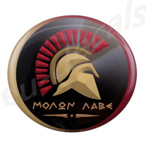 MOLON-LABE-034-come-and-take-them-034-3D-Decal-sticker-Spartan-for-Cafe-Racer-helmet