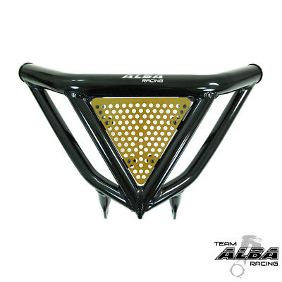 Raptor 700  Intimidator Front Bumper Black /& Gold Screens  Alba Racing  197 N3BD