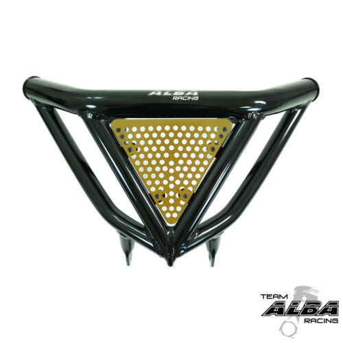 Raptor 700  Intimidator Front Bumper Black /& Gold Screens  Alba Racing  197 N3BD