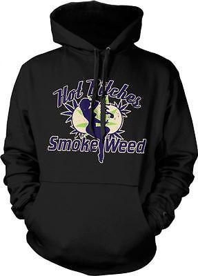 Ganja Casual Jumper Wellcoda Puff Weed Marijuana Mens Contrast Hoodie