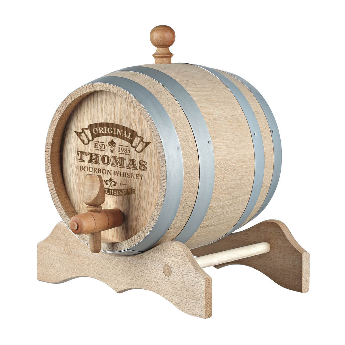 Tonneau whiskyfass incl. Gravure motif original-exclusif